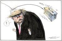 Trump confronts democracy