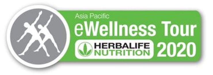 Logo for Herbalife Nutrition Korea's e-Wellness Tour online seminar