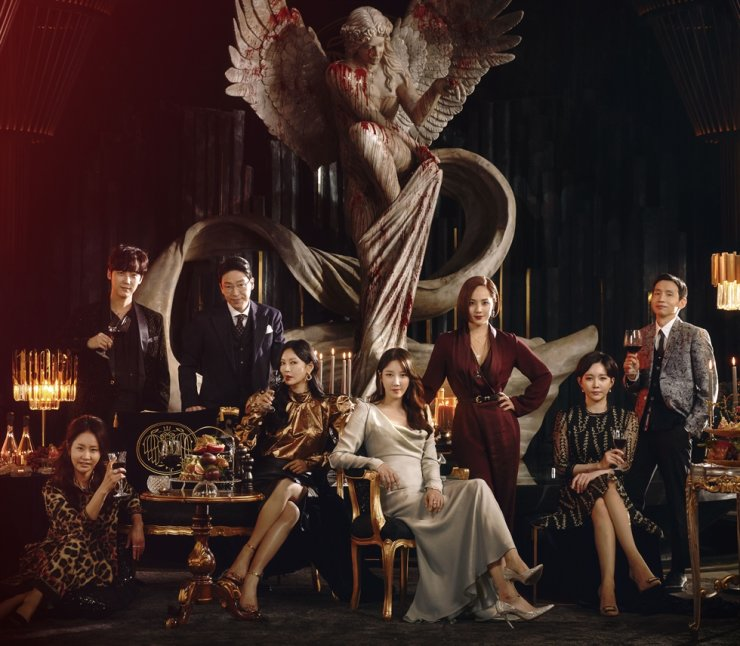 TV series 'Penthouse: War in Life' reached its highest viewership rating Monday at 11.4 percent. Courtesy of SBS