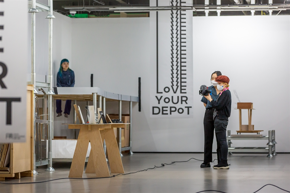 Rhii Jew-yo's solo exhibition 'Love Your Depot_London' is held at the Korean Cultural Centre UK. / Courtesy of the Korean Cultural Centre UK