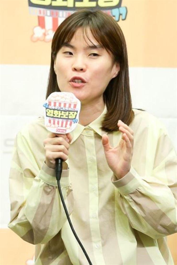 Comedian Park Ji-sun. Korea Times file