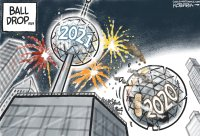 2020 and 2021 ball drop