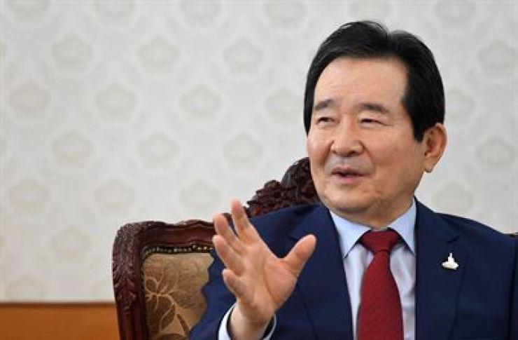 Prime Minister Chung Sye-kyun / Korea Times file