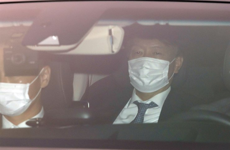 Prosecutor-General Yoon Seok-youl arrives at the Supreme Prosecutors' Office in Seoul, Wednesday. / Yonhap
