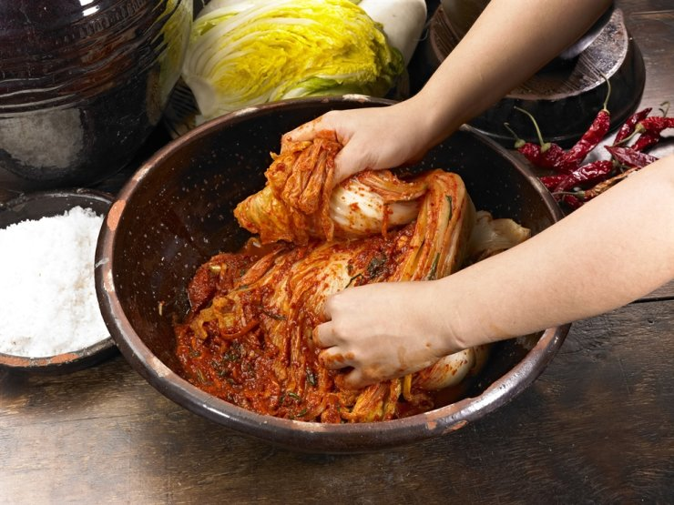 Kimchi / gettyimagesbank