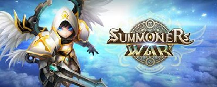 A poster for Com2uS's mobile game 'Summoners War: Sky Arena.' / Courtesy of Com2uS