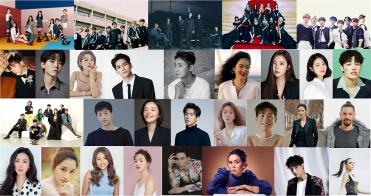 Winners of the 2020 Asia Model Awards. / Courtesy of Asia Model Festival Organizing Committee