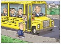 Bus for dictators
