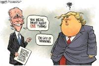 Biden sick of winning