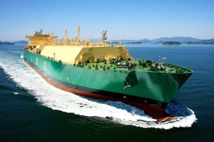 An LNG carrier is seen in this file photo. Korea Times file