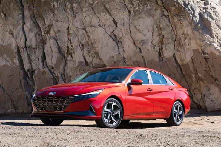 Hyundai Avante (sold as Elantra in the U.S.) / Courtesy of Hyundai Motor