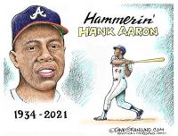 Hank Aaron tribute
