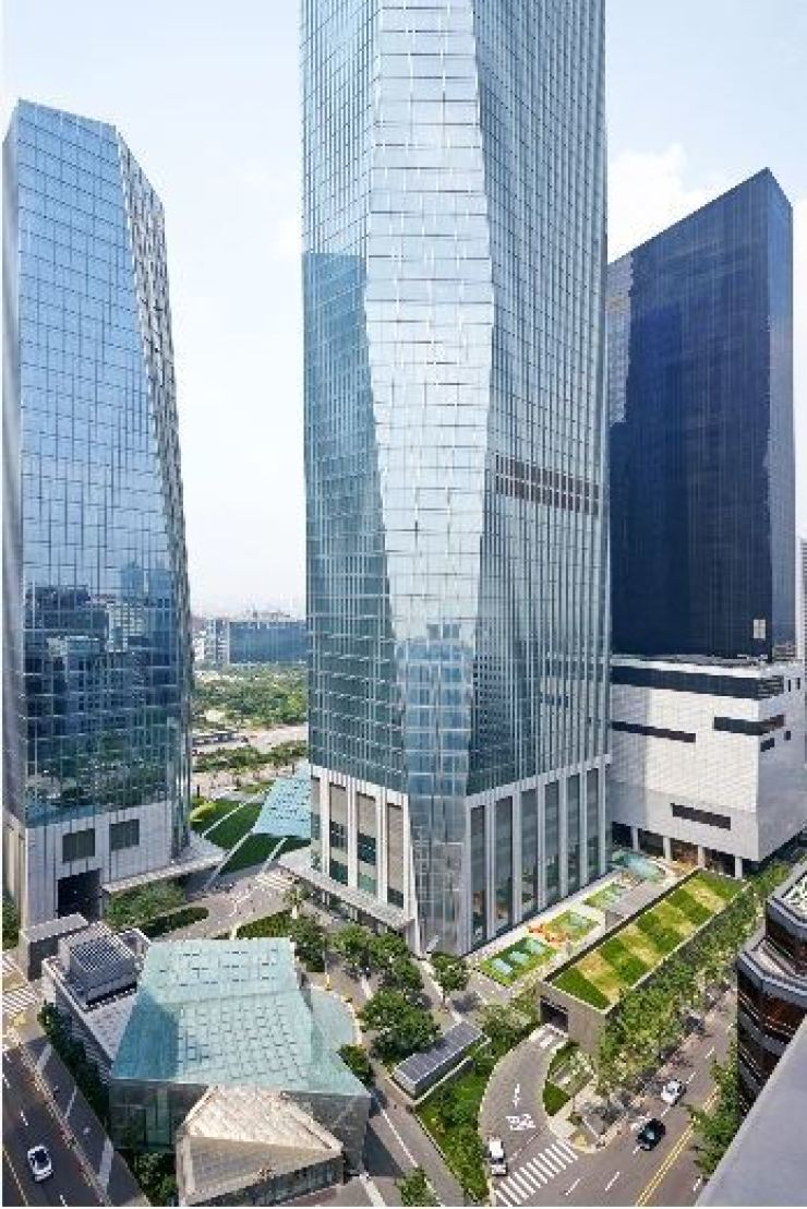IFC Mall on Yeouido, Seoul / Korea Times file