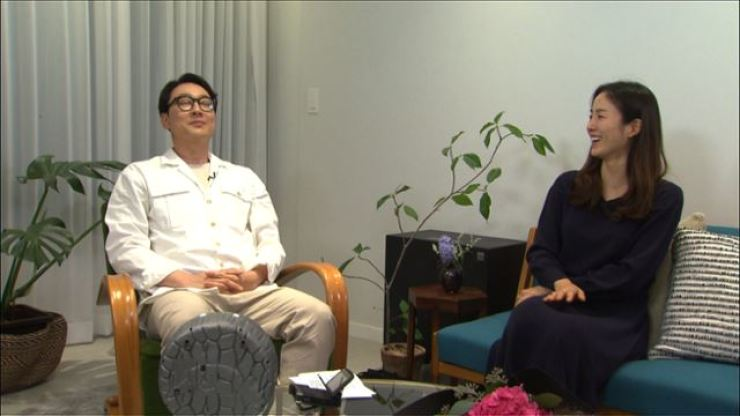 Comedian Lee Hwi-jae and his wife Moon Jung-won / Courtesy of KBS