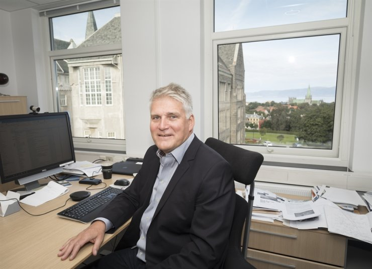 SINTEF's Executive Vice President Sustainability Nils Anders Rokke. Courtesy of Nils Anders Rokke