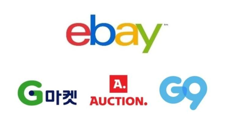eBay Korea with its Korean online retailers' logos / Korea Times file