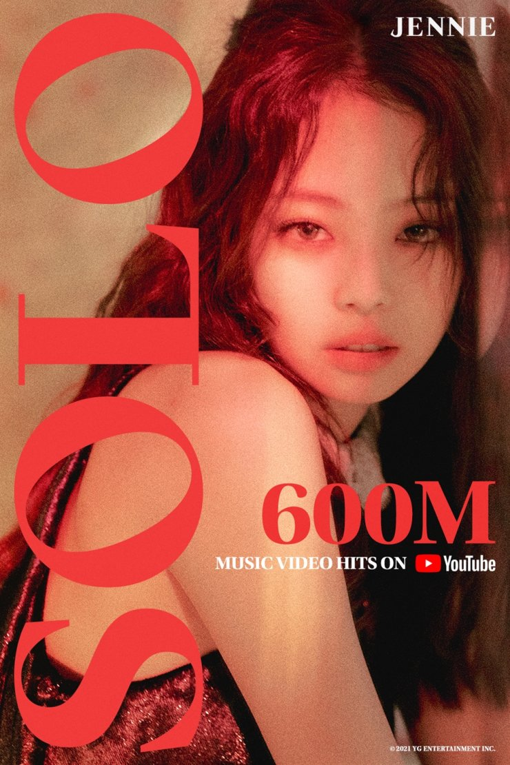 BLACKPINK's Jennie / Courtesy of YG Entertainment