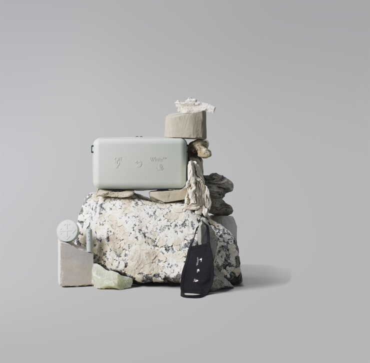 Protection Box produced by AmorePacific in collaboration with Off-White / Courtesy of AmorePacific