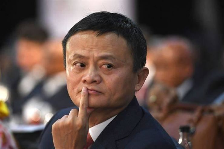 Jack Ma, the founder of Alibaba Group and the largest shareholder of Ant Group / AFP-Yonhap