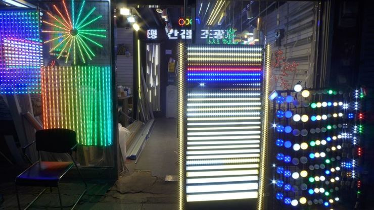A colorful corner of Euljiro in downtown Seoul / Courtesy of Extra Noir