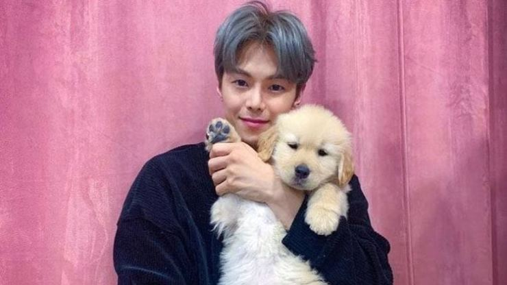 Actor Park Eun-seok apologized Wednesday after being criticized for abandoning his pet dog. Capture from Park's Instagram