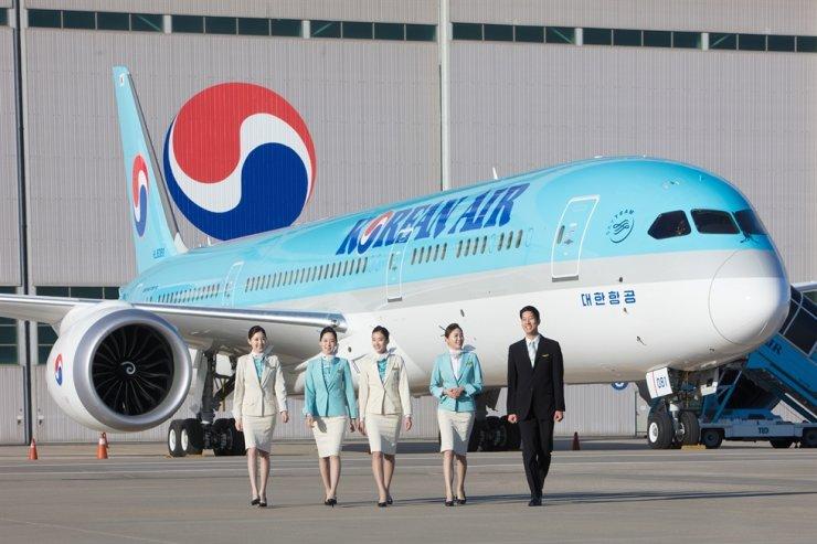 Korean Air B787-9 / Courtesy of Korean Air