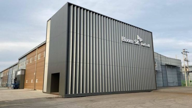 Bloom SK Fuel Cell plant in Gumi, North Gyeongsang Province / Courtesy of SK E&C