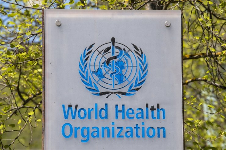 The logo and building of the World Health Organization (WHO) headquarters in Geneva, Switzerland, 15 April 2020 (reissued 21 January 2021). US President Joe Biden in the first hours in office signed several executive orders reversing policies of his predecessor including on the coronavirus pandemic, the Paris climate agreement and Trump's controversial border wall. / EPA-Yonhap