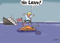 Boris Johnson on a desert island