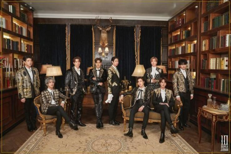 Super Junior will drop its new album 'The Renaissance' on Feb. 16. Courtesy of Label SJ