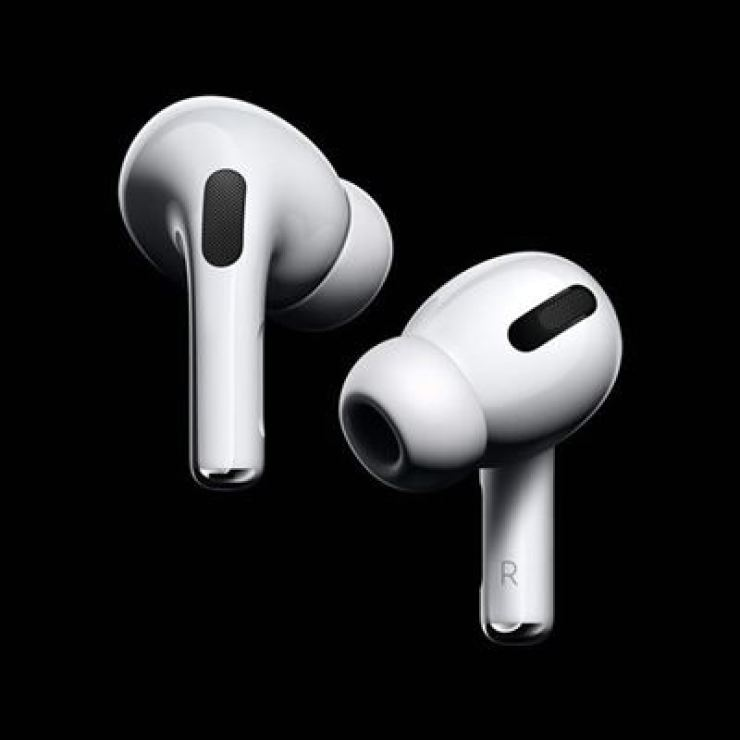 Apple's AirPods Pro wireless in-ear headphones / Courtesy of Apple Korea