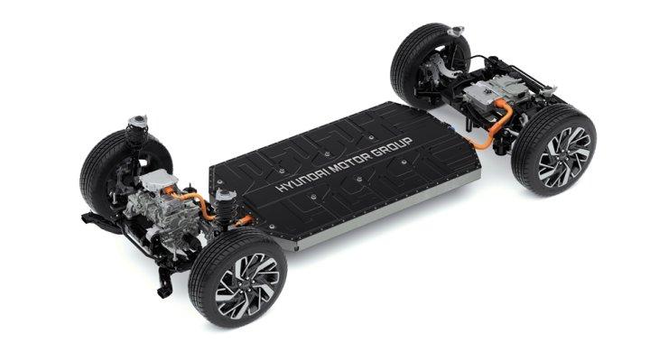 Hyundai Motor Group's Electric-Global Modular Platform (E-GMP) / Courtesy of Hyundai Motor Group