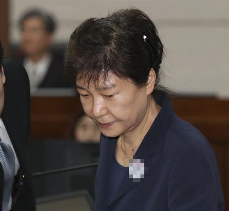 Former President Park Geun-hye / Korea Times file