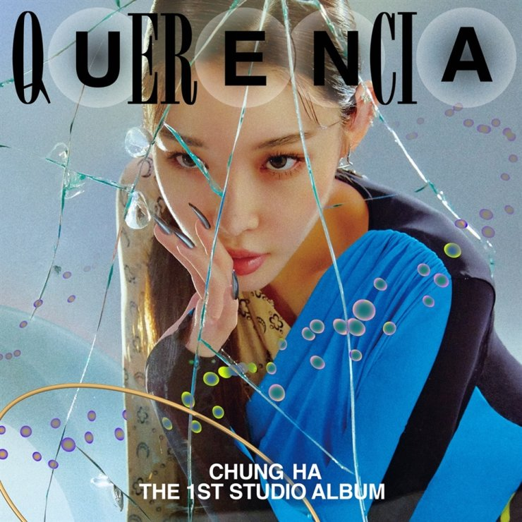 Singer Chungha will release her first studio album 'Querencia' on Feb. 15. Courtesy of MNH Entertainment