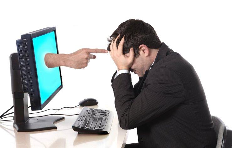 Cyber-harassment gettyimagesbank