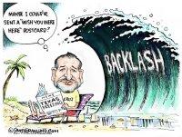 Ted Cruz flies to Cancun