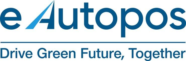 The logo of POSCO's electric vehicle material brand, e Autopos / Courtesy of POSCO