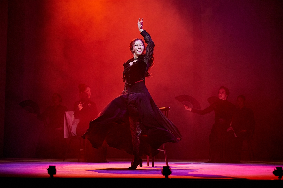 A scene from musical 'Bernarda Alba' at Jeongdong Theater in central Seoul / Courtesy of Jeongdong Theater