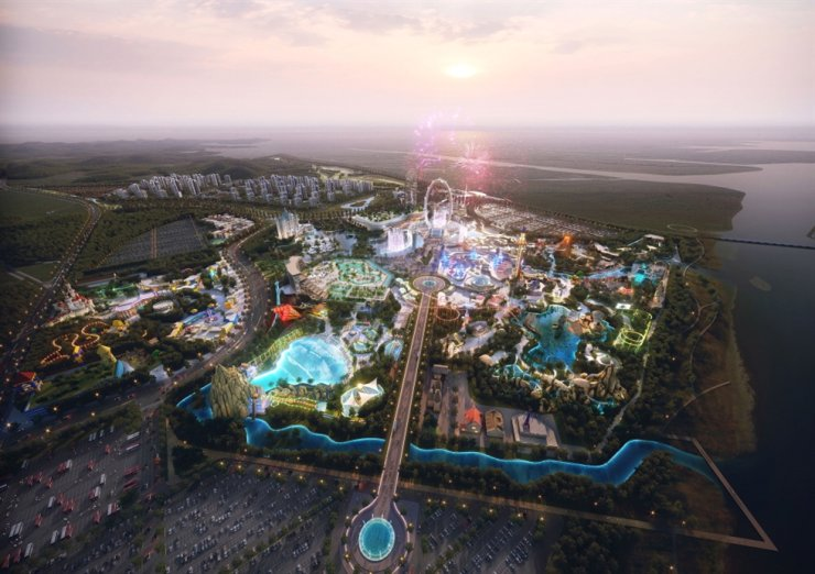 Illustration of Shinsegae's new theme park to be built by 2030 / Courtesy of Gyeonggi Province