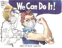Roll up your sleeves!