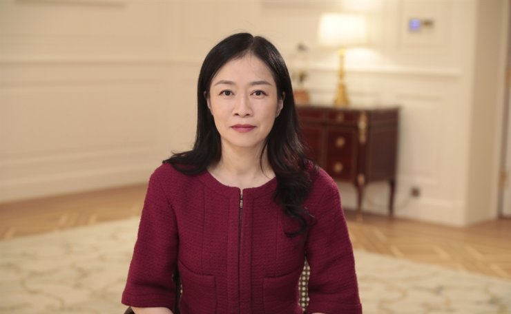 Catherine Chen, senior vice president and director of the board at Huawei / Courtesy of Huawei
