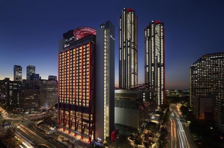 The Fairmont Ambassador Seoul opened on Seoul's Yeouido, Wednesday. Courtesy of Fairmont Ambassador Seoul