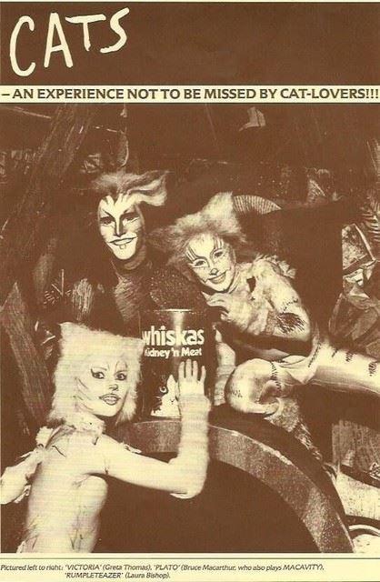 Dominique Hamilton, left, as Rumpleteazer in the 40th anniversary production of 'Cats' in Korea / Courtesy of S&CO