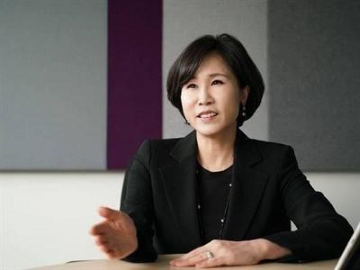 Citibank Korea CEO Yoo Myung-soon / Korea Times