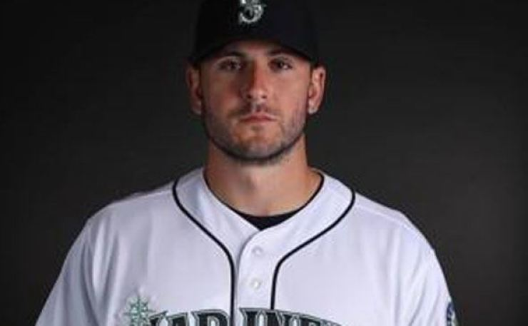 Former Seattle Mariners player David Freitas is pictured during a photo day at Peoria Stadium in Peoria, Arizona, in this AFP file photo from Feb. 18, 2019. AFP-Yonhap