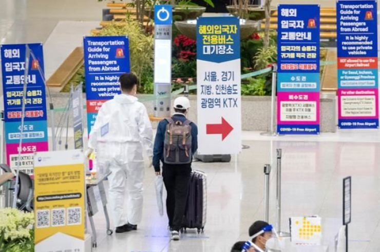 Incheon International Airport is seen empty last year after the number of travelers nosedived due to the COVID-19 pandemic. / Korea times file
