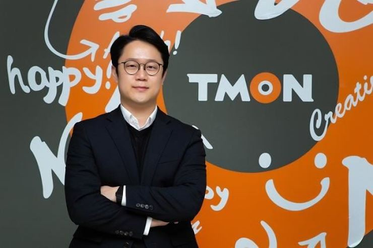 TMON CEO Lee Jin-won poses in his office in Seoul in this 2020 file photo. Korea time file
