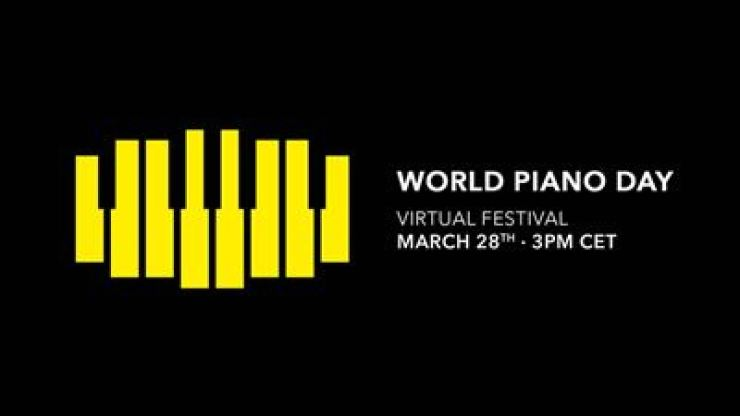 Logo for a virtual festival to mark World Piano Day by Universal Music / Courtesy of Universal Music