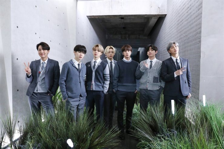 K-pop boy band BTS / Courtesy of Big Hit Entertainment