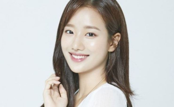 Lee Na-eun of K-pop girl group April / Courtesy of DSP Media
